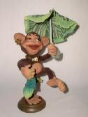 Мартышка с зонтиком